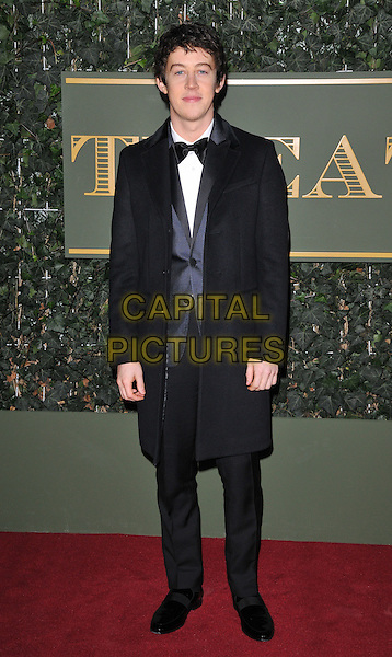 Alex Sharp attends the London Evening Standard Theatre Awards 2015, The Old Vic, The Cut, London, England, UK, on Sunday 22 November 2015.<br /> CAP/CAN<br /> &copy;CAN/Capital Pictures