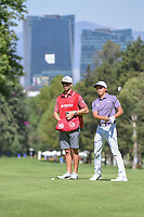 Rickie Fowler (USA) looks over his approach shot on 6 during round 1 of the World Golf Championships, Mexico, Club De Golf Chapultepec, Mexico City, Mexico. 2/21/2019.<br /> Picture: Golffile | Ken Murray<br /> <br /> <br /> All photo usage must carry mandatory copyright credit (© Golffile | Ken Murray)