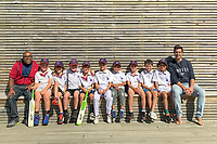 Flippers. Eastern Suburbs Cricket Club Junior Team Photos, Wellington, New Zealand. March 2020. Picxtured, from left: Anthony Hume (assistant manager), Lenny Joyce, Asher Swanson, Tom Oscroft, Fred Nelson, Orlando Mackey, Elfin Wu, Ethan Lew, Ethan Cash, Angus Hume and Eugene Cash (manager).