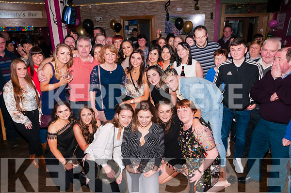 21st Birthday : Chloe Horan, Duagh celebrating her 21st birthday with family & friends at Christy's bar, listowel on Saturday night last.