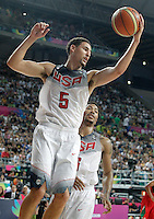 USA's Klay Thompson during 2014 FIBA Basketball World Cup Round of 16 match.September 6,2014.(ALTERPHOTOS/Acero)