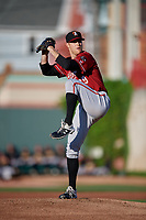 Altoona Curve pitcher James Marvel (29) during an Eastern League game against the Erie SeaWolves on June 3, 2019 at UPMC Park in Erie, Pennsylvania.  Altoona defeated Erie 9-8.  (Mike Janes/Four Seam Images)