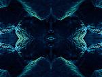 Mare nostrum / creación artística de un mar subterráneo en Europa,  luna de Júpiter / serie cosmos.