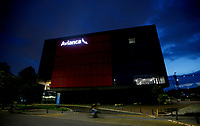 BOGOTA, COLOMBIA - MAY 11: General view of Colombian airline Avianca headquarters on May 11, 2020 in Bogota. Avianca filed for bankruptcy protection in the United States on May 10, 2020 to reorganize its debt for the impact of the coronavirus pandemic. (Photo by Leonardo Munoz/VIEWpress via Getty Images)