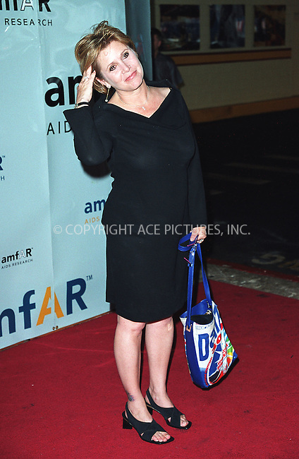 "Carrie Fisher sporting a tattoo on her ankle at AmFar's ""Honoring With Pride"" event at Chelsea Piers in New York. June 26, 2002. Please byline: Alecsey Boldeskul/NY Photo Press.   ..*PAY-PER-USE*      ....NY Photo Press:  ..phone (646) 267-6913;   ..e-mail: info@nyphotopress.com"