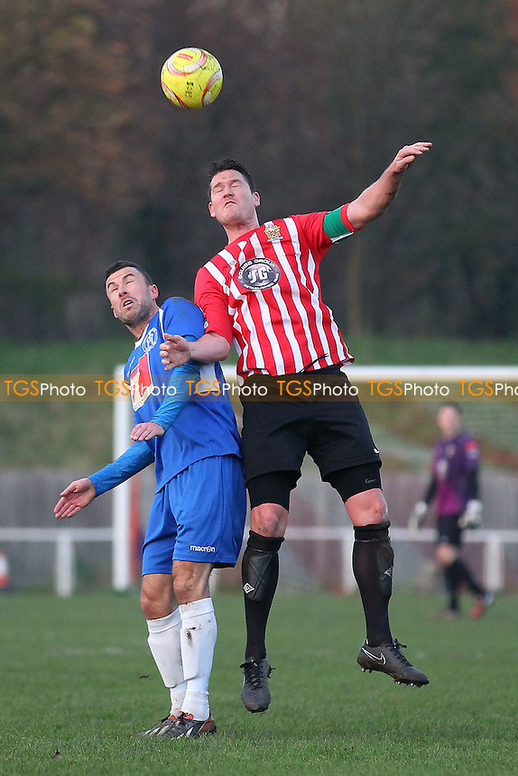Frankie Curley in action for Hornchurch - AFC Hornchurch vs Leiston - Ryman League Premier Division Football at the Stadium, Bridge Avenue, Upminster Bridge - 06/12/14 - MANDATORY CREDIT: Gavin Ellis/TGSPHOTO - Self billing applies where appropriate - contact@tgsphoto.co.uk - NO UNPAID USE
