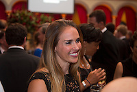 Heather Mitts. US Soccer held their Centennial Gala at the National Building Museum in Washington DC.