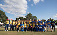 Essex CCC XI and Upminster CC during Upminster CC vs Essex CCC, Benefit Match Cricket at Upminster Park on 8th September 2019