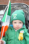 Ewan Traynor at the 2011 St.Patrick's Day Parade in Drogheda...(Photo credit should read Jenny Matthews/www.newsfile.ie)....This Picture has been sent you under the conditions enclosed by:.Newsfile Ltd..The Studio,.Millmount Abbey,.Drogheda,.Co Meath..Ireland..Tel: +353(0)41-9871240.Fax: +353(0)41-9871260.GSM: +353(0)86-2500958.email: pictures@newsfile.ie.www.newsfile.ie.