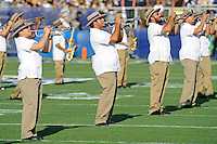 17 September 2011:  FIU's band performs prior to the game.  The FIU Golden Panthers defeated the University of Central Florida Golden Knights, 17-10, at FIU Stadium in Miami, Florida.