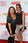 Actress Aida Turturro (left) and guest arrive at the Grey Centennial Gala at Madison Square Park in New York City on May 18, 2017.