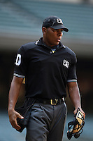 Umpire Jeremie Rehak during an Instructional League game between the Oakland Athletics and Arizona Diamondbacks on October 10, 2014 at Chase Field in Phoenix, Arizona.  (Mike Janes/Four Seam Images)