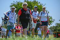 Laura Davies (ENG) heads down 3 during round 2 of  the Volunteers of America LPGA Texas Classic, at the Old American Golf Club in The Colony, Texas, USA. 5/6/2018.<br /> Picture: Golffile | Ken Murray<br /> <br /> <br /> All photo usage must carry mandatory copyright credit (&copy; Golffile | Ken Murray)