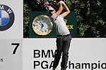 Gregory Havret teeing off at the 7th.during round three of the BMW PGA championship 2010 at Wentworth golf club, Surrey England..Picture Fran Caffrey/Newsfile.ie