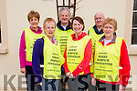 Front L-R Marie O'Connor, Trisha Ryan, Kate Fleming, Back L-R Joan Burke, Paddy O'Sullivan (Chairman of Kerry Hospice Fundation Kilcummin Branch) and Tom O'Connor at the Kilcummin Annual Good Friday Walk in aid of Kerry Hospice Fundation last Friday morning.