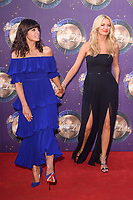 Claudia Winkleman &amp; Tess Daly at the launch of the new series of &quot;Strictly Come Dancing&quot; at New Broadcasting House, London, UK. <br /> 28 August  2017<br /> Picture: Steve Vas/Featureflash/SilverHub 0208 004 5359 sales@silverhubmedia.com