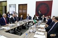 SÃO PAULO, SP, 21.02.2018: PREFEITURA-SP - O prefeito João Doria (PSDB) e o ministro Italiano dos negócios estrangeiros e da cooperação internacional Angelino Alfano, durante reunião na sede da prefeitura de São Paulo, na região central, nesta quarta-feira (21). (Foto: Fábio Vieira/FotoRua)