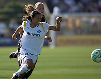 Marta sprints toward the goal. Los Angeles Sol defeated FC Gold Pride 2-0 at Buck Shaw Stadium in Santa Clara, California on May 24, 2009.
