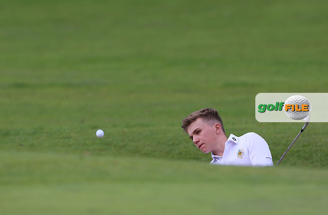 Rob Moran (Castle) during the Final of the Senior Cup at Carton House.17/9/16<br /> <br /> Picture: Golffile | Jenny Matthews<br /> <br /> <br /> All photo usage must carry mandatory copyright credit (&copy; Golffile | Jenny Matthews)