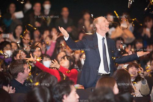 January 30, 2014 : Tokyo, Japan - Ron Howard appears at the Japan Premiere for RUSH by Ron Howard in the Yurakucho Marion, Tokyo, Japan. (Photo by Yumeto Yamazaki/NipponNews)