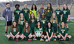 4-28-15, Huron High School girl's JV soccer team