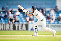 Picture by Allan McKenzie/SWpix.com - 20/04/2018 - Cricket - Specsavers County Championship - Yorkshire County Cricket Club v Nottinghamshire County Cricket Club - Emerald Headingley Stadium, Leeds, England - Alex Lees bats.