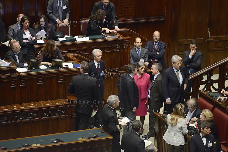 Roma, 19 Aprile 2013.Camera dei Deputati.Votazione del Presidente della Repubblica a camere riunite.Quarto Scrutinio,Anna Finocchiaro