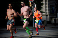 PITTSBURGH, PA - MAY 5: The Pittsburgh Marathon race takes place on May 5, 2013 in Pittsburgh, Pennsylvania. (Jeff Swensen for The Pittsburgh Marathon)