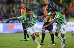 Medellín. Atlético Nacional venció 2 goles por 0 a Águilas Doradas, en el partido correspondiente a la fecha 16 del Torneo Clausura 2014, desarrollado el 25 de octubre en el estadio Atanasio Girardot. Diego Peralta marcó para Nacional en el minuto 62.