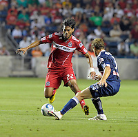 Chicago Fire vs New York Red Bulls August 08 2010