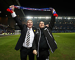 Ally McCoist and Kenny McDowall celebrate