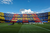 FC Barcelona's Camp Nou stadium during La Liga match between FC Barcelona and Real Madrid at Camp Nou Stadium in Barcelona, Spain. October 28, 2018. (ALTERPHOTOS/A. Perez Meca)<br /> Barcelona 28-10-2018 Camp Nou <br /> Barcellona - Real Madrid <br /> Liga Campionato Spagna 2018/2019<br /> Foto Perez Meca / Alterphotos / Insidefoto <br /> ITALY ONLY