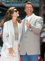 Maria Shriver, Arnold Schwarzenegger, 1994, Photo By Michael Ferguson/PHOTOlink