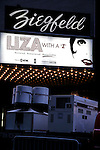 ( Liza With A Z - Theatre Marquee ). Attending the Showtime & Broadway Cares Equity Fights Aids Benefit Screening of LIZA WITH A Z at the Ziegfeld Theatre in New York City..Liza Minnelli celebrated her 60th Birthday with the Restoration of the 1972 classic television Concert event directed by Bob Fosse. After the screening MAC VIVA GLAM presented a check for $25,000..March 13, 2006.© Walter McBride /  .
