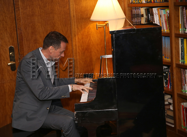 Andrew Lippa attends the Dramatists Guild Fund Salon With Rick Elice at the Cornell Club on March 6, 2017 in New York City.