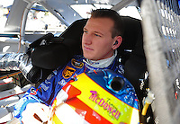 Sept. 19, 2008; Dover, DE, USA; Nascar Sprint Cup Series driver Michael McDowell during practice for the Camping World RV 400 at Dover International Speedway. Mandatory Credit: Mark J. Rebilas-