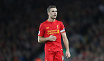 Jordan Henderson of Liverpool of Liverpool during the Premier League match at Anfield Stadium, Liverpool. Picture date: December 11th, 2016.Photo credit should read: Lynne Cameron/Sportimage