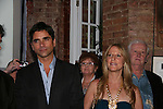 John Stamos, Marcia Tovsky at the Fame-Wall World Premiere Launch Party and Inaugural Portrait Unveiling Honoring John Stamos currently starring in Broadway's Bye, Bye Birdie on September 10, 2009 at Trattoria Dopo Teatro, NYC - now Home of New Fame-Wall, NYC. Fame-Wall salutes those who have inspired people and made a significant impact through the world of art and entertainment. (Photo by Sue Coflin/Max Photos)