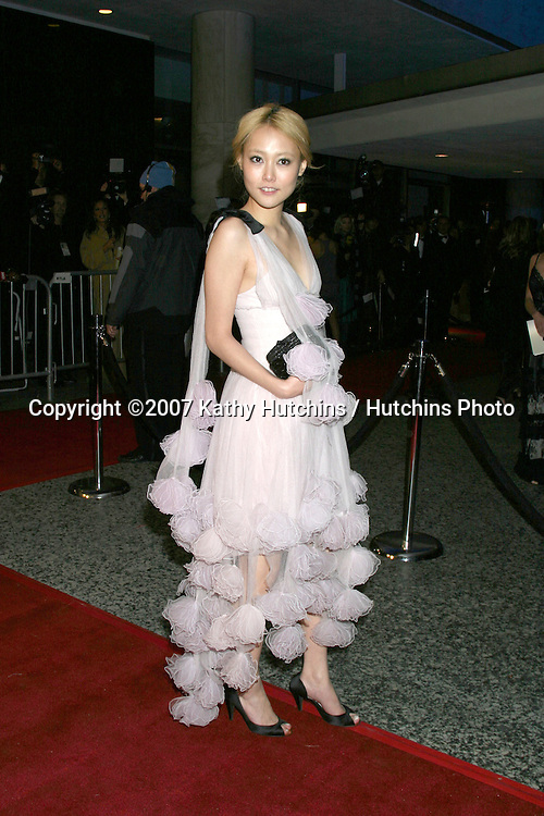 Rinko Kikuchi.Paramount Pictures Post Golden Globe Party.Beverly Hills,  CA.January 14, 2007.©2007 Kathy Hutchins / Hutchins Photo.