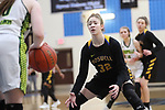 Boswell beats Birdville 53-35 in Region I 5A girls area round playoff basketball at Byron Nelson High School in Trophy Club on Friday, February 16, 2018. (photo by Khampha Bouaphanh)
