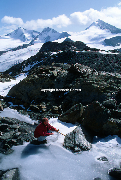 Iceman, Niederjoch Glacier, Austria, Konrad Spindler