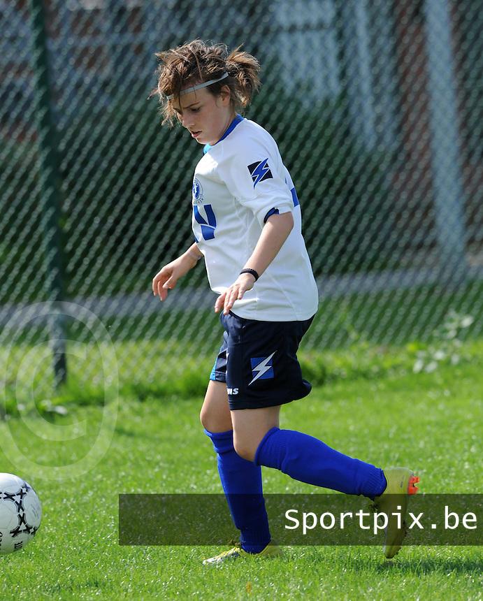 KVK Eva ' s Tienen : Silke Sneyers.foto DAVID CATRY / Vrouwenteam.be