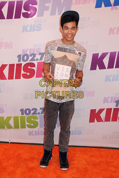 Roshon Fegan.at KIIS FM's Wango Tango 2013 held at The Home Depot Center, Carson, California, USA, 11th May 2013..arrivals full length .CAP/ADM/BP.©Byron Purvis/AdMedia/Capital Pictures