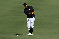 Joel Sjoholm (SWE) on the 7th green during Round 2 of the Challenge Tour Grand Final 2019 at Club de Golf Alcanada, Port d'Alcúdia, Mallorca, Spain on Friday 8th November 2019.<br /> Picture:  Thos Caffrey / Golffile<br /> <br /> All photo usage must carry mandatory copyright credit (© Golffile | Thos Caffrey)