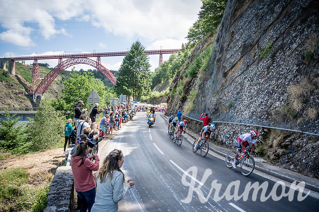 early breakaway group<br /> <br /> Stage 10: Saint-Flour to Albi (217km)<br /> 106th Tour de France 2019 (2.UWT)<br /> <br /> ©kramon