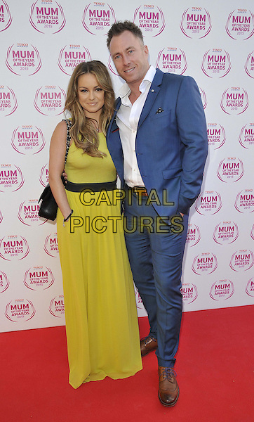 LONDON, ENGLAND - MARCH 01: Ola Jordan &amp; James Jordan attend the Tesco Mum Of The Year Awards 2015, The Savoy Hotel, The Strand, on Sunday March 01, 2015 in London, England, UK. <br /> CAP/CAN<br /> &copy;CAN/Capital Pictures