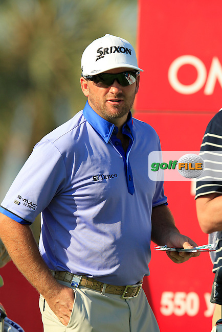 Graeme McDOWELL (NIR) during Tuesday's Challenge Match 2 man scramble of the 2015 Omega Dubai Desert Classic held at the Emirates Golf Club, Dubai, UAE.: Picture Eoin Clarke, www.golffile.ie: 1/27/2015