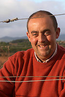 Jean-Christophe Piccinini Domaine Piccinini in La Liviniere Minervois. Languedoc. Owner winemaker. France. Europe. Vineyard.