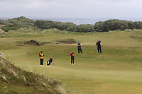 Amelia Garvey (NZL) on the 5th fairway during Matchplay Semi-Finals of the Women's Amateur Championship at Royal County Down Golf Club in Newcastle Co. Down on Saturday 15th June 2019.<br /> Picture:  Thos Caffrey / www.golffile.ie