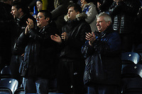 Blackburn Rovers fans applaud their team at the final whistle <br /> <br /> Photographer Kevin Barnes/CameraSport<br /> <br /> The EFL Sky Bet Championship - Blackburn Rovers v Preston North End - Saturday 11th January 2020 - Ewood Park - Blackburn<br /> <br /> World Copyright © 2020 CameraSport. All rights reserved. 43 Linden Ave. Countesthorpe. Leicester. England. LE8 5PG - Tel: +44 (0) 116 277 4147 - admin@camerasport.com - www.camerasport.com